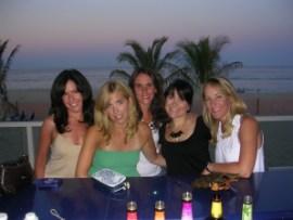 Maria, Merrill, Liz, Me and Lisa