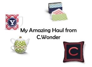 My Haul from C.Wonder