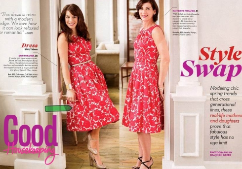 As seen in Good Housekeeping (May 2013) - the dress that breaks the age barrier