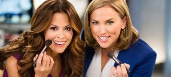 Brooke Burke-Charvet and celebrity makeup artist Naomi Priestley love the remarkable new Sheer Cover Studio.