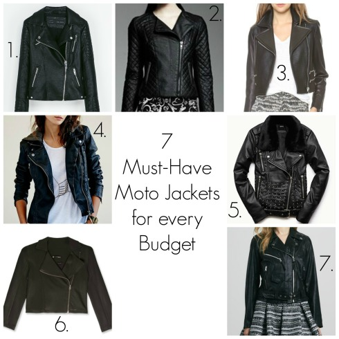7 Must Have Moto Jackets for the Season