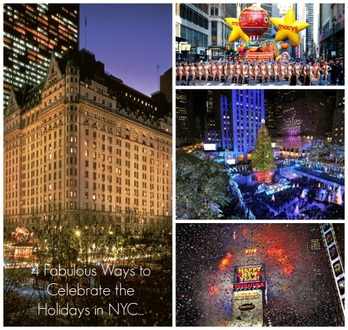 Four Fabulous Ways to Celebrate the holidays in NYC