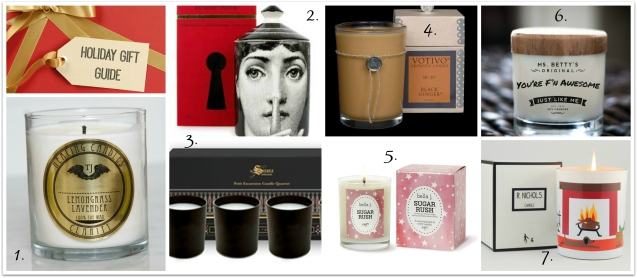 Candle Gift Guide