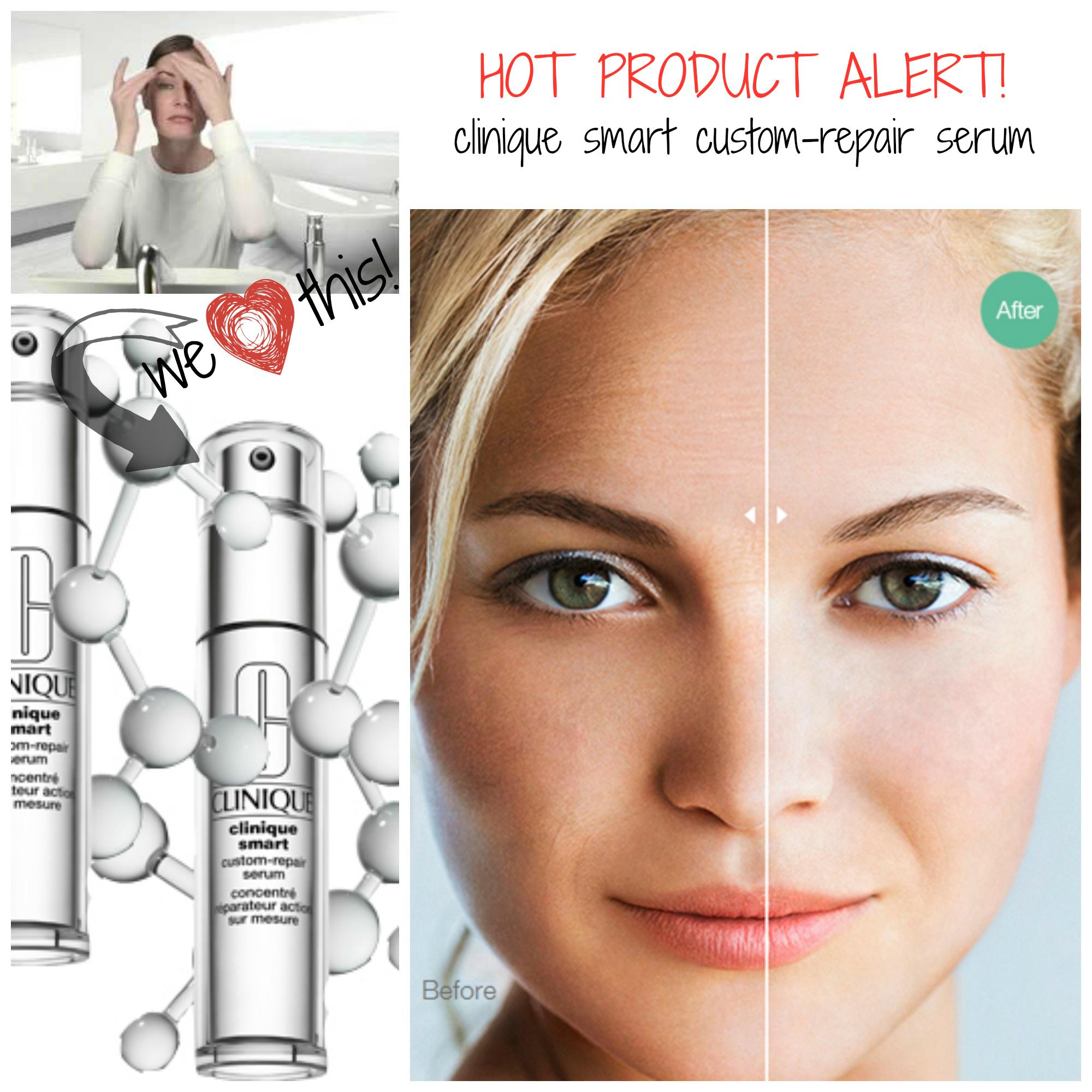 HOT PRODUCT ALERT: Clinique Smart Custom-Repair Serum