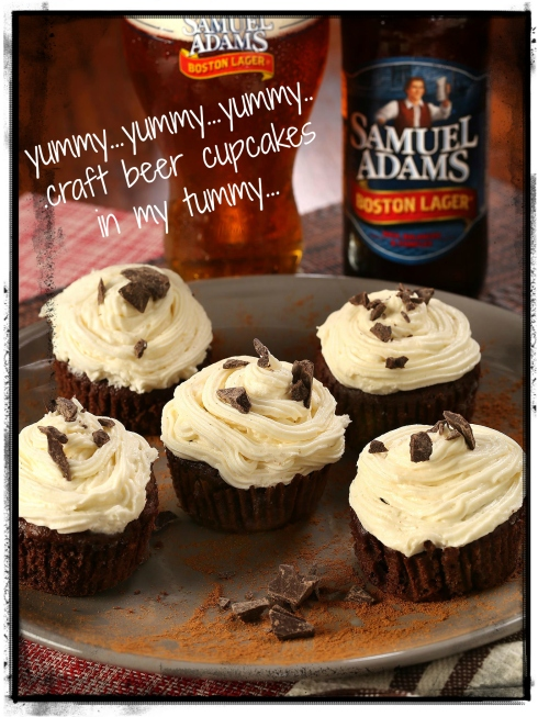 Craft Beer Cupcakes