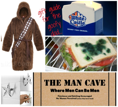 Goofy Gifts for Dad